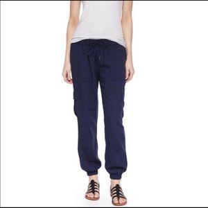 Joie Markell Blue Cargo Lounge Pants Size XXS
